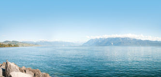 Lake Leman Royalty Free Stock Photo