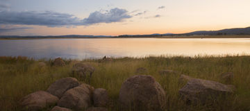 Lake Leslie in Queensland. Lake Leslie near Warwick, Queensland in the late afternoon Royalty Free Stock Photo