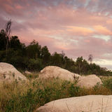 Lake Leslie in Queensland. Lake Leslie near Warwick, Queensland in the late afternoon Stock Photography