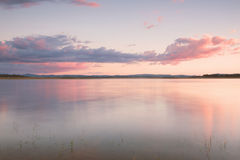 Lake Leslie in Queensland. Lake Leslie near Warwick, Queensland in the late afternoon Stock Photos