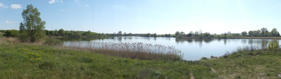 Lake Leszcze Stock Image