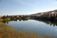 lake libya royaltyfri foto