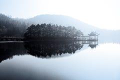 Lake like painting Stock Photo