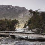 Lake Lilla in Cradle Mountain, Tasmania Royalty Free Stock Photo