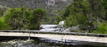 Lake Lilla in Cradle Mountain, Tasmania Royalty Free Stock Image