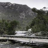Lake Lilla in Cradle Mountain, Tasmania Stock Photos