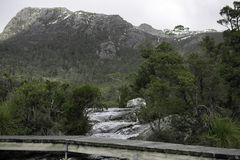 Lake Lilla in Cradle Mountain, Tasmania Royalty Free Stock Photography