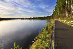 Lake Lipno Royalty Free Stock Photo