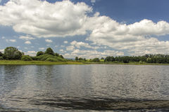 Lake Lipno in south Bohemia, Czech Republic, Europe Stock Photo
