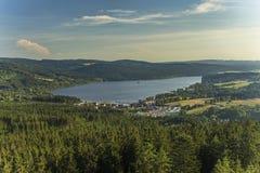 Lake Lipno in south Bohemia, Czech Republic, Europe Stock Photos