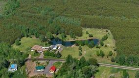 Lake in Litchfield. Canada, north America. Lake in Litchfield. Canada north America royalty free stock photography