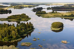 Lake in Lithuania Royalty Free Stock Photos