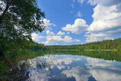 Lake in Lithuania Stock Photography