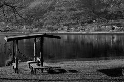 Lake. A little lake in treviso Stock Photos