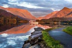 Lake in llansberis Royalty Free Stock Image