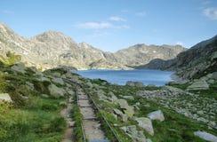 Lake Llong in Aiguestortes royalty free stock photo