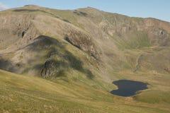 Lake, Llyn Ffynnon y-gwas Royalty Free Stock Images