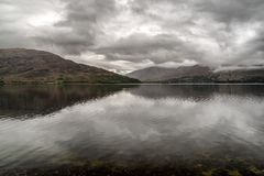 Lake Loch Linnhe in Scotland royalty free stock images
