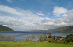 Lake Loch Ness. In Scotland Royalty Free Stock Photography