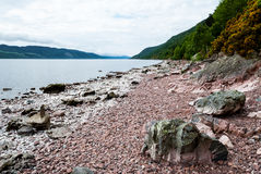 lake Loch Ness scotland Royaltyfria Bilder