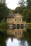 Lake lodge Stock Photography