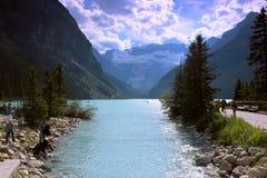 Lake Loise Royalty Free Stock Photos