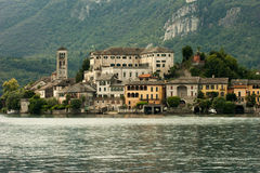 Lake. In lombardy and piemonte, Italy Stock Photos