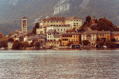Lake. In lombardy and piemonte, Italy Royalty Free Stock Photography