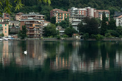 Lake. In lombardy and piemonte, Italy Royalty Free Stock Images