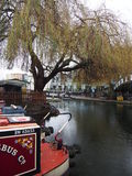 Lake in london. Candem road london Royalty Free Stock Photography