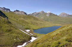Lake of Longet in Italy Royalty Free Stock Images