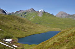 Lake of Longet in Italy Royalty Free Stock Photography