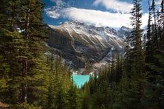 Lake Louise - Альберта, Канада Стоковые Изображения RF