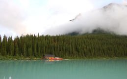 Lake Louise stockfoto