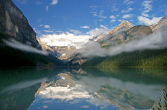 Lake Louise. Reflections at Lake Louise / Canada Royalty Free Stock Photography