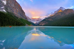 Lake Louise Image libre de droits