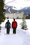 Lake Louise Lizenzfreie Stockfotos