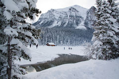 Lake Louise Foto de Stock Royalty Free