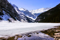 Lake Louise Immagini Stock