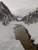 Lake Louise Images libres de droits