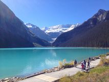 Lake Louise Fotografia Stock