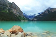 Lake Louise Fotografie Stock Libere da Diritti