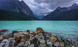 Lake Louise 免版税库存照片