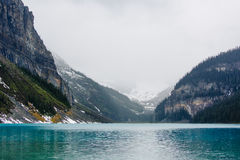 Lake Louise Arkivfoto