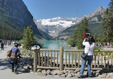 Lake Louise Stockfotografie