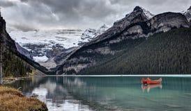 Lake Louise Alberta Fotos de archivo