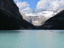 Lake Louise Alberta Image stock