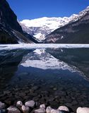 Lake Louise, Alberta, Canadá. Imagens de Stock Royalty Free