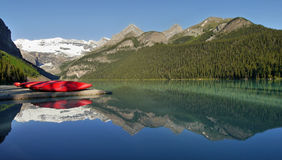 Lake Louise, Alberta royalty free stock photos