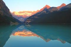 Lake Louise - Alberta - il Canada fotografia stock libera da diritti